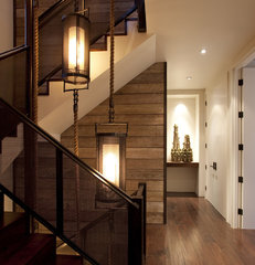 modern staircase by SB Architects