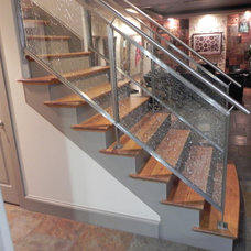 Modern Staircase by Seal Tex Metals