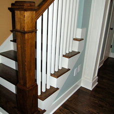 Craftsman Staircase by McCoy Homes, Inc.