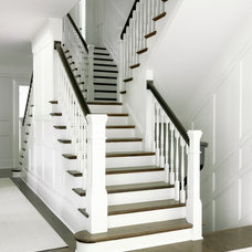 Traditional Staircase by Mitchell Wall Architecture & Design