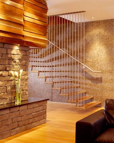 Modern Staircase by Hufft