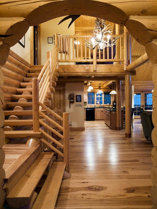 Log Stairs Ideas, Pictures, Remodel And Decor