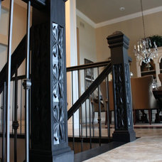 Traditional Staircase by Flourish Design Elements