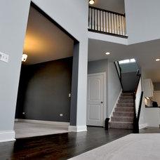 Traditional Staircase by DJK Custom Homes