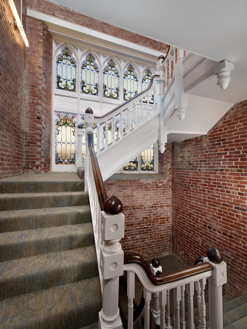 Victorian Staircase Design Ideas Remodels Photos