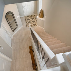 Contemporary Staircase by Morrison Homes