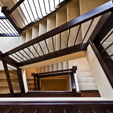 Traditional Staircase by Marcson Homes Ltd.