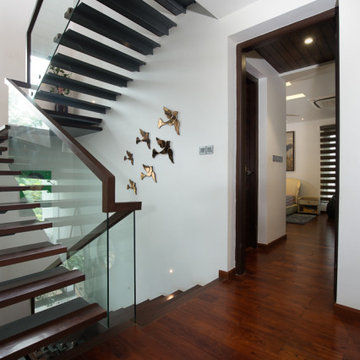 The Stair case - A home build around a stair case