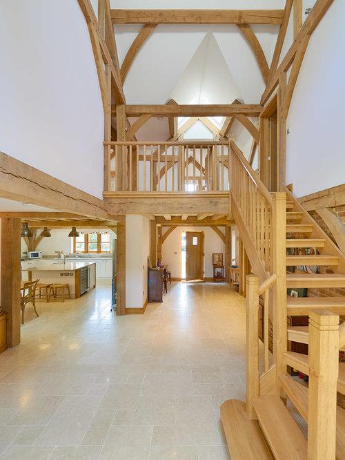 Rustic Staircase Design Ideas, Renovations & Photos