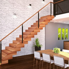 Contemporary Staircase by L'Escalerie
