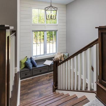 The Tristan - Modern Day Farmhouse - Staircase