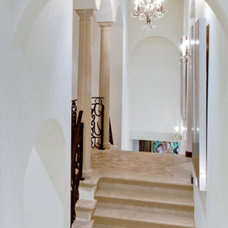 Traditional Staircase by The Twelve Oaks Group