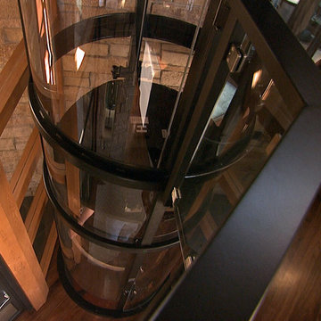 The Visi 58 Glass Elevator by Nationwide Lifts