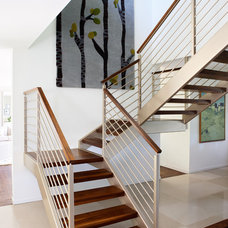 Midcentury Staircase by ALB Designs