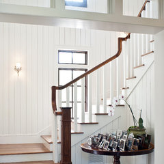 tropical staircase by Mackle Construction