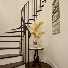 traditional staircase by Maison Market