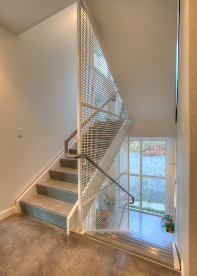 Moderne Escalier by Dan Nelson, Designs Northwest Architects