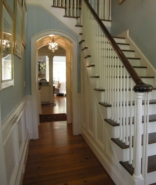 How Wide Is The Hallway Beside The Staircase, And The Stair Width?
