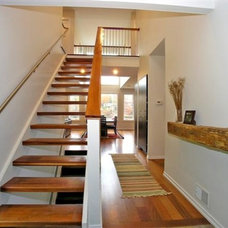 Contemporary Staircase by Image Design LLC