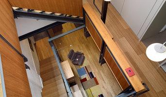 Three Story Stairwell