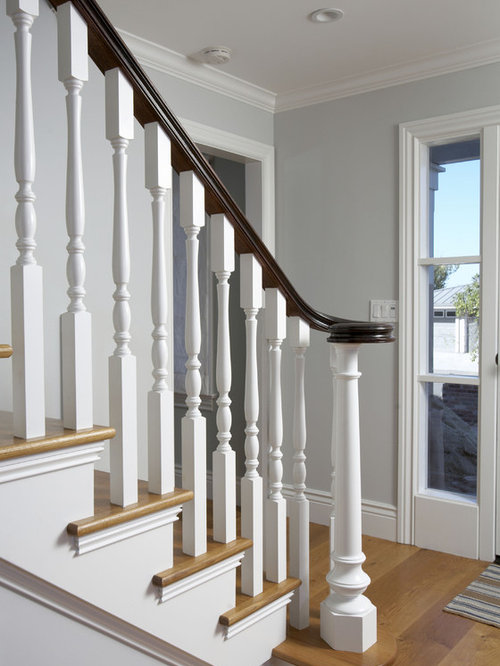 White Spindles Home Design Ideas Pictures Remodel And Decor