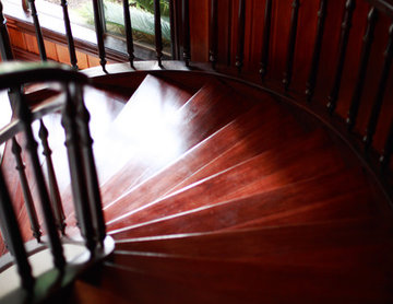 Timber and Iron Staircase