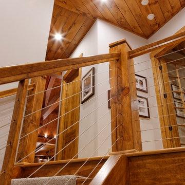 Timber Frame Home in Hillsborough, NC