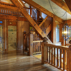 traditional staircase by Shouldice Media