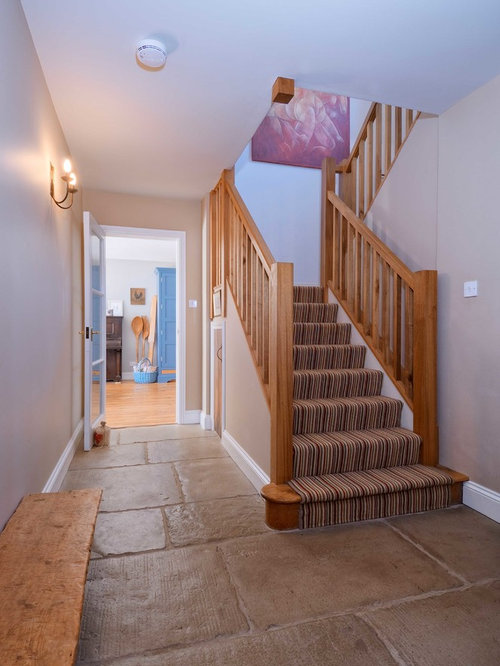 Striped Carpet Stairs Home Design Ideas Renovations amp Photos