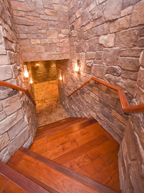 Man Cave With Brick Wall : Man cave houzz