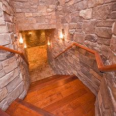 Mediterranean Staircase by Premier Lighting