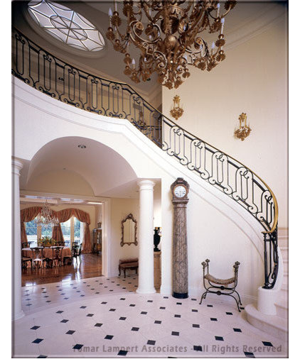 traditional staircase by Tomar Lampert Associates
