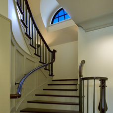 Traditional Staircase by LS3P | Neal Prince Studio