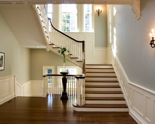 Best georgian stair hall design ideas remodel pictures for Georgian staircase design