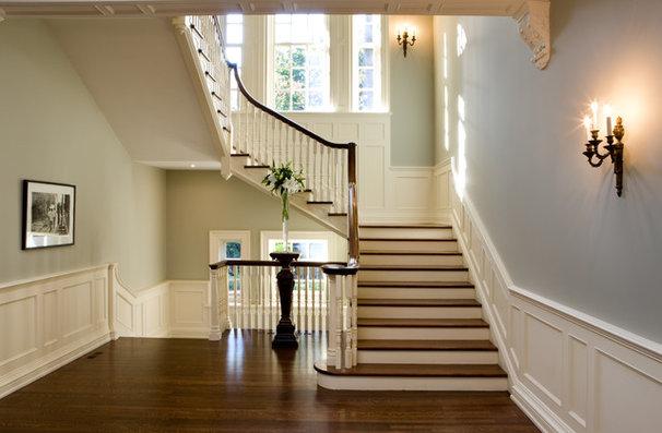 Traditional Staircase by Heintzman Sanborn Architecture~Interior Design
