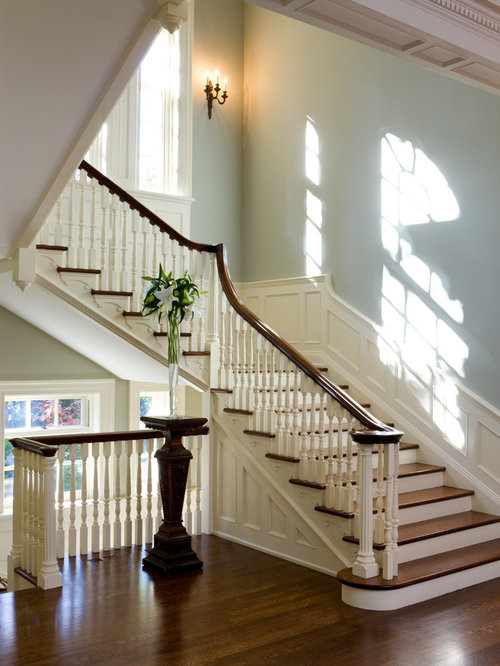 Georgian Stair Hall Home Design Ideas Pictures Remodel