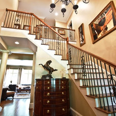 Traditional Staircase by Toulmin Homes