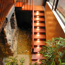 Contemporary Staircase by West Chin Architects & Interior Designers