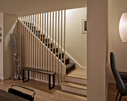 Open Basement Stair Home Design Ideas Pictures Remodel