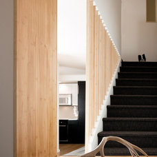Contemporary Staircase by Jon+Aud Design