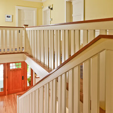 Craftsman Staircase by FGY Architects