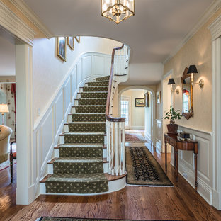 Traditional Front Entry & Staircase