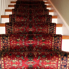 Traditional Staircase by Brandon Oriental Rugs