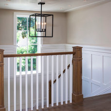 Traditional Staircase by Tomaro Design Group