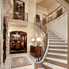 Traditional Staircase by RDM General Contractors