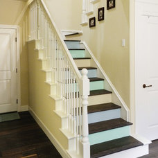 Traditional Staircase by Morse Remodeling, Inc. and Custom Homes