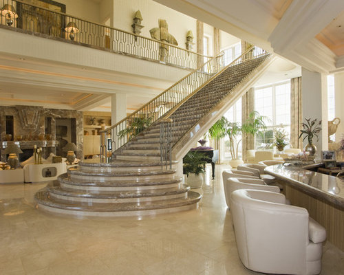 Beautiful stair design ideas remodel pictures houzz for Elegant stairs design