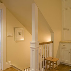 Traditional Staircase by Podesta Construction