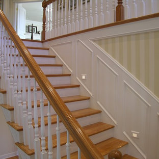 Staircase - traditional staircase idea in Portland