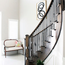 Traditional Staircase by AM Dolce Vita